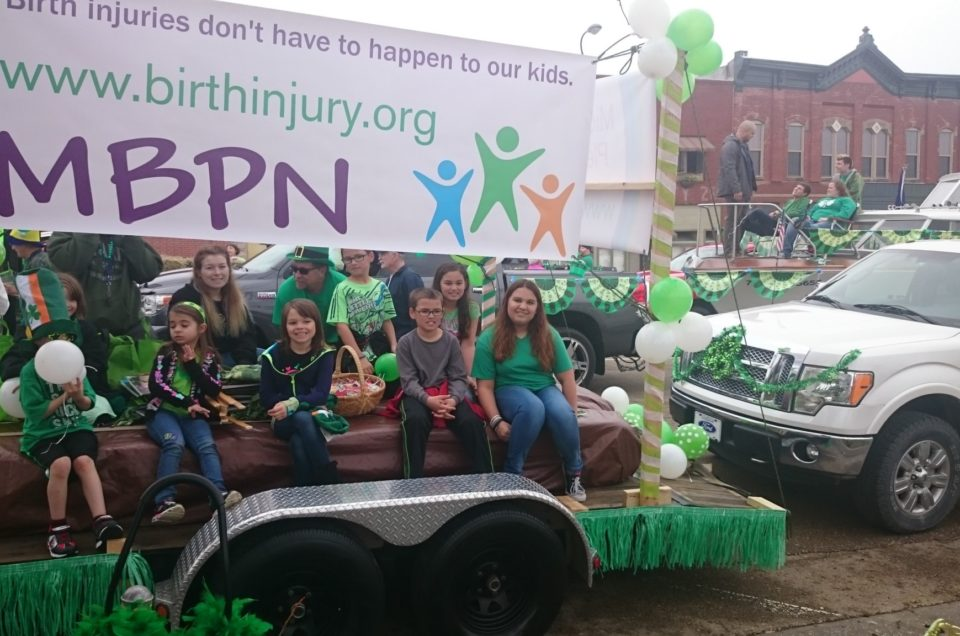 MBPN to march in Topeka St. Patrick's Day Parade in support of BPI Awareness